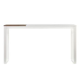 Modern Contemporary White Parsons Console Table AllModern