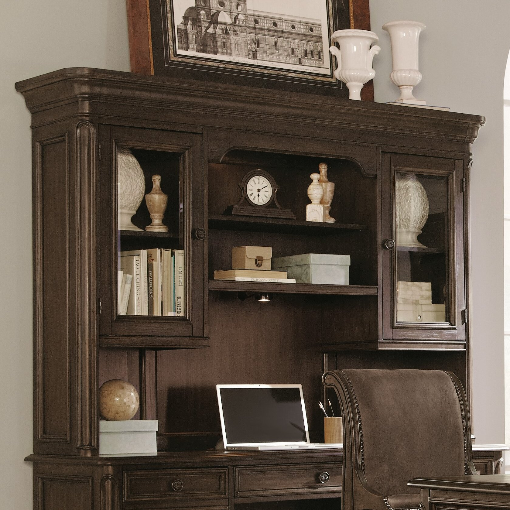 Magnussen Broughton Hall Executive Desk with 7 Drawers