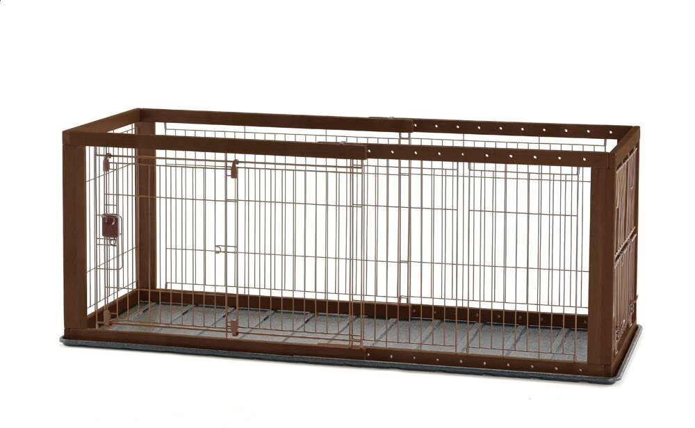 Richell Expandable Pet Crate With Floor Tray Amp Reviews