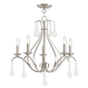 Aria 5-Light Candle-Style Chandelier