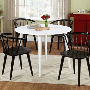 Arielle 5 Piece Wood Dining Set
