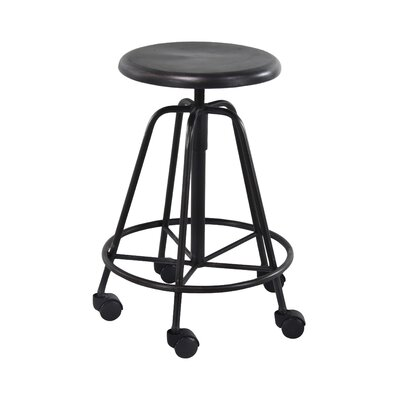 Wilhelm Modern 24 Bar Stool With Wheels