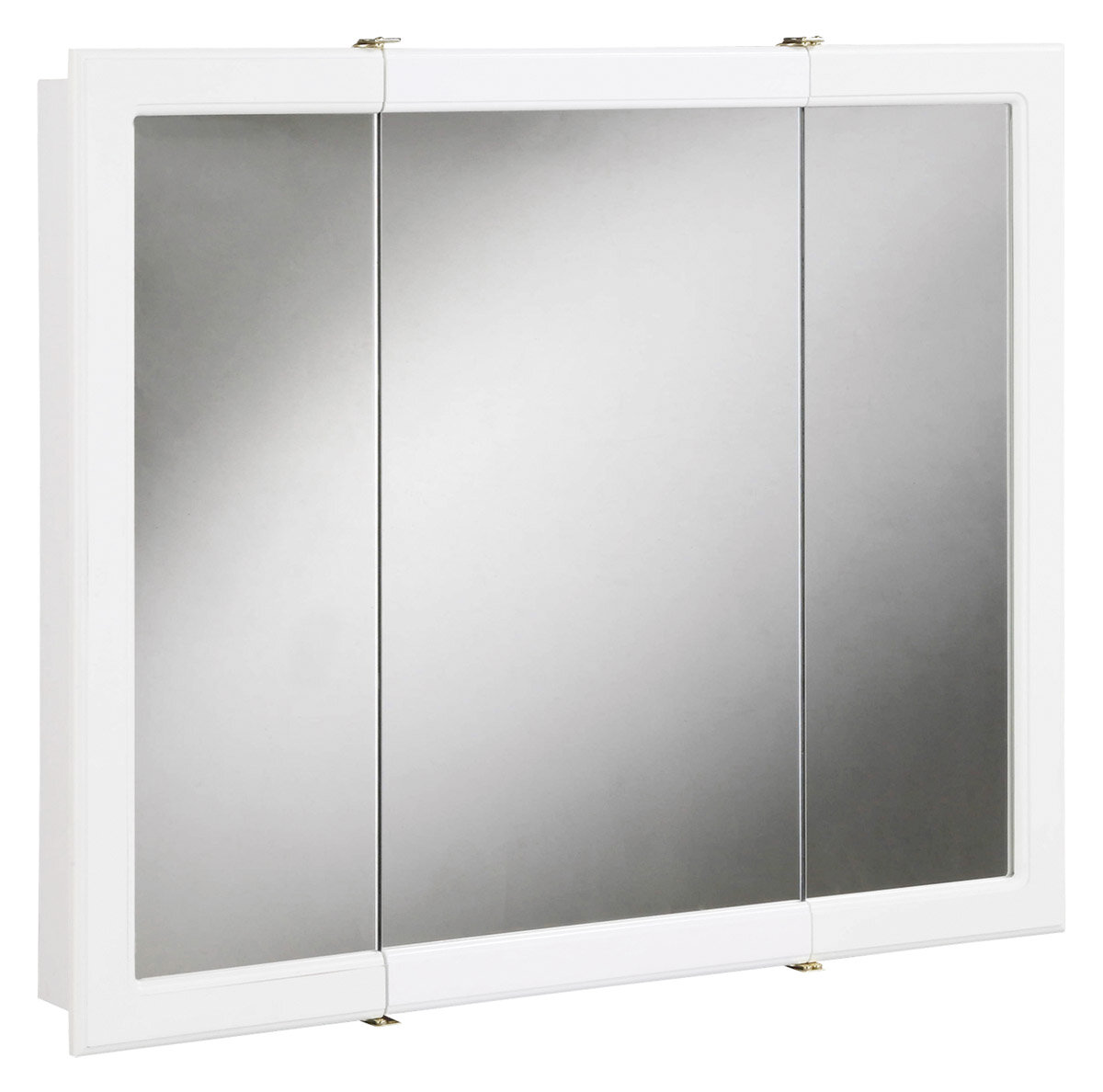 lowes medicine recessed bathroom shop rectangle x pl cabinet designer surface com cabinets mirrored storage in aluminum zenith at