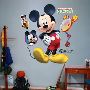 . Mickey Mouse Wall Decals   Wayfair