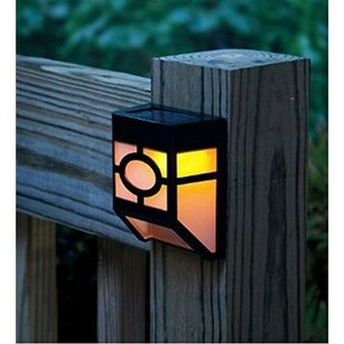 Solar Ed 1 Light Fence Post Cap Set Of 4