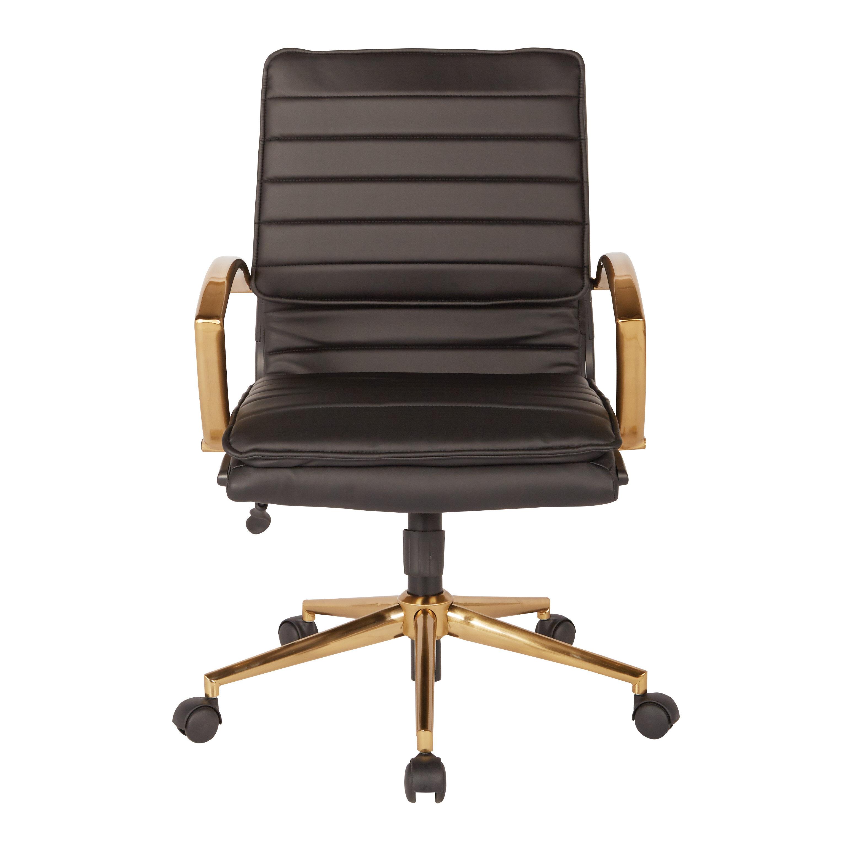 Greyleigh Opheim Mid Back Office Chair U0026 Reviews   Wayfair