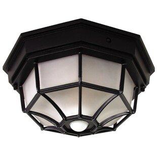 Outdoor column mount light wayfair dualbrite 4 light flush mount workwithnaturefo