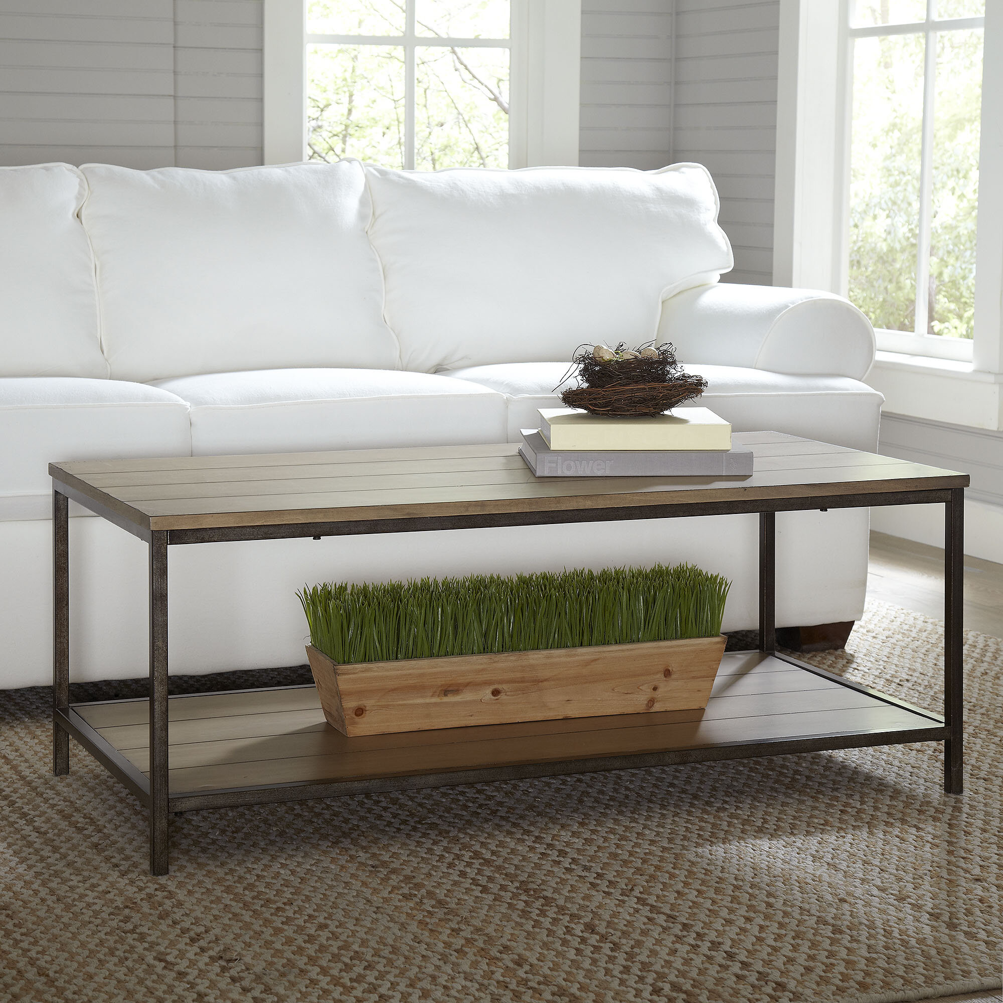 Modern & Contemporary Box Frame Coffee Table