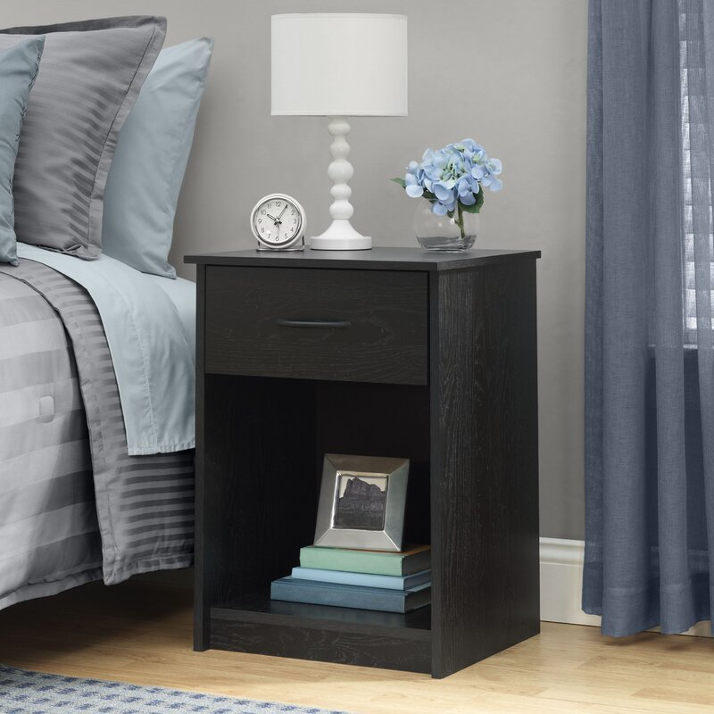 Andover Mills Bowdoin 1 Drawer Nightstand & Reviews