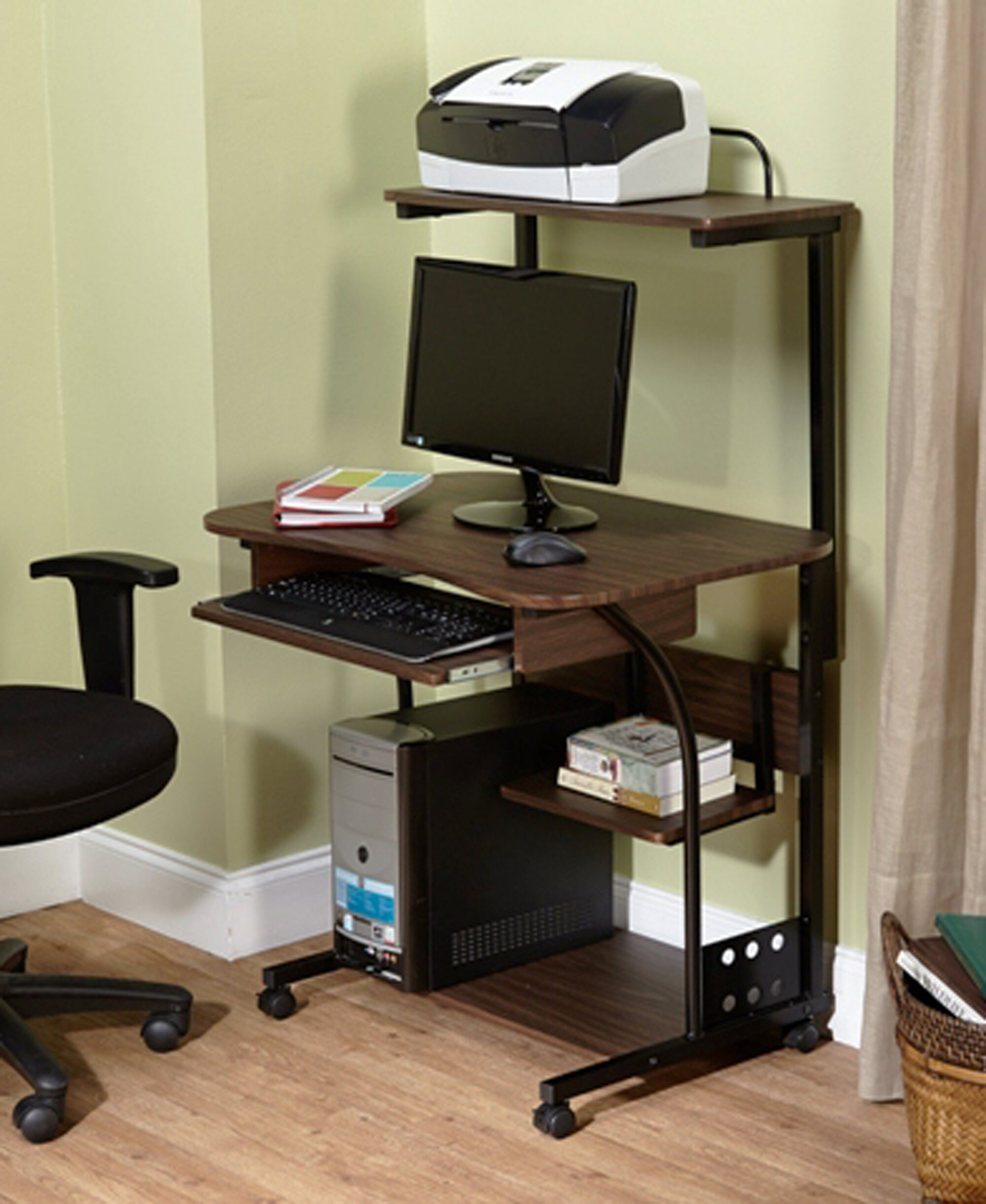 TMS Computer Desk With Storage U0026 Reviews | Wayfair