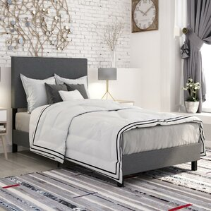 Pulliam Upholstered Panel Bed by Varick Gallery