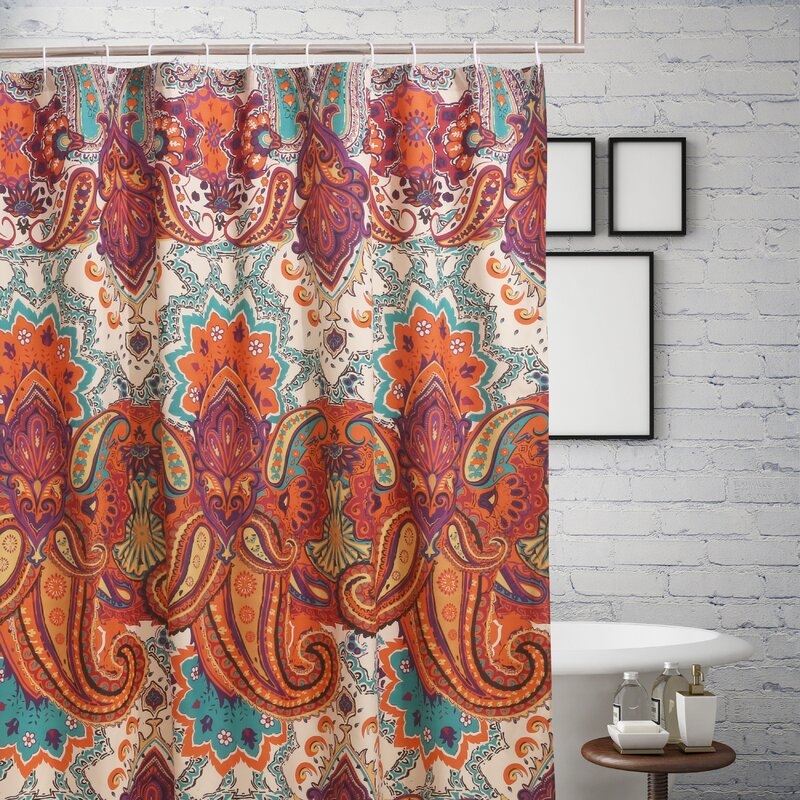 Roskilde Spice Single Shower Curtain Reviews