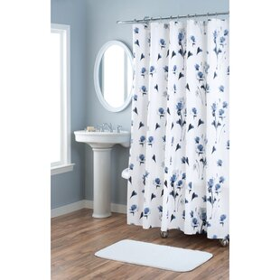 Le Fleur Cotton Single Shower Curtain