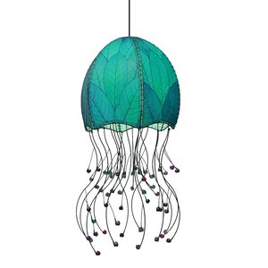 Jellyfish Hanging 1-Light Foyer Pendant