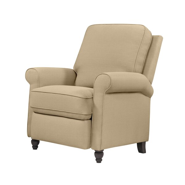 Recliner With Wood Arms | Wayfair