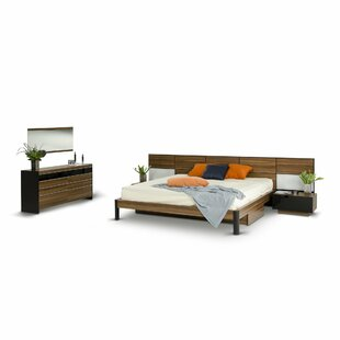 Cooke King Platform 5 Piece Bedroom Set