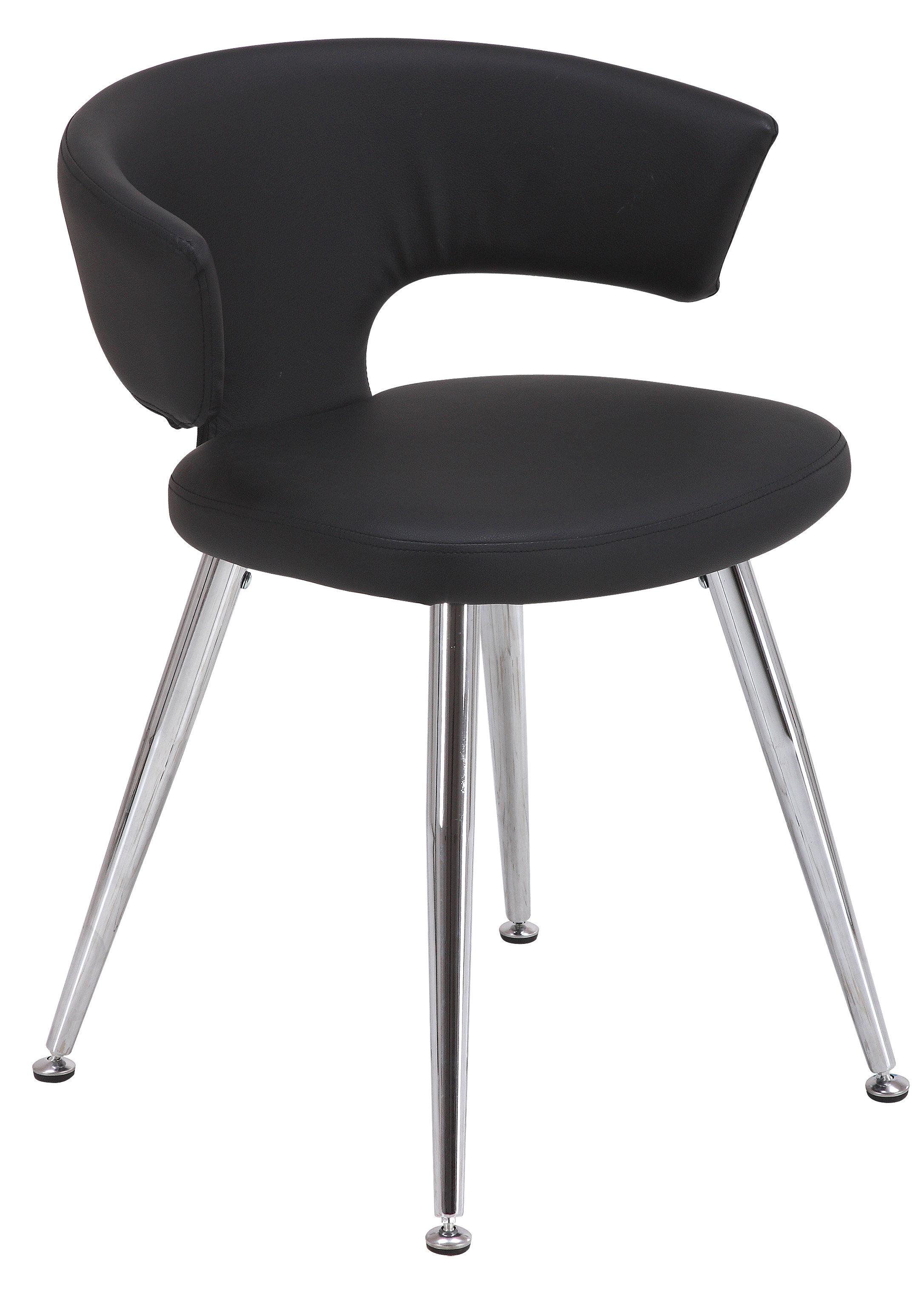 Orren ellis turrini contemporary upholstered dining chair wayfair