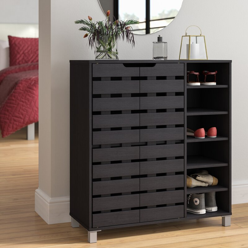 cabinet black shore collection ip karbon charcoal wall storage south pure
