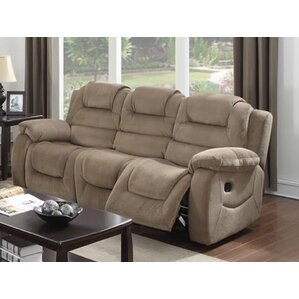 staas dual reclining sofa