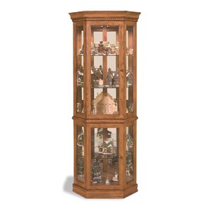 Lighthouse Lighted Corner Curio Cabinet by Philip Reinisch Co.