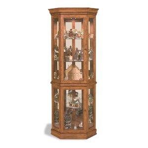 Lighthouse Lighted Corner Curio Cabinet b..