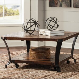 Industrial Coffee Tables Youll Love Wayfair
