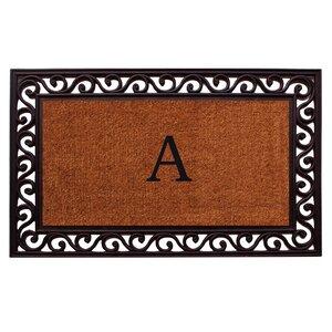 Rembrandt Personalized Monogrammed Doormat