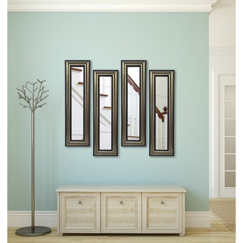 Kincannon Antique Mirror Panels Set Of 4