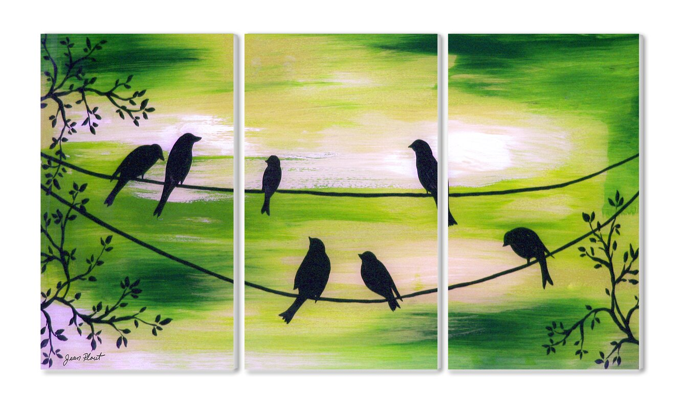 Bird On A Wire Wall Decor | Wayfair