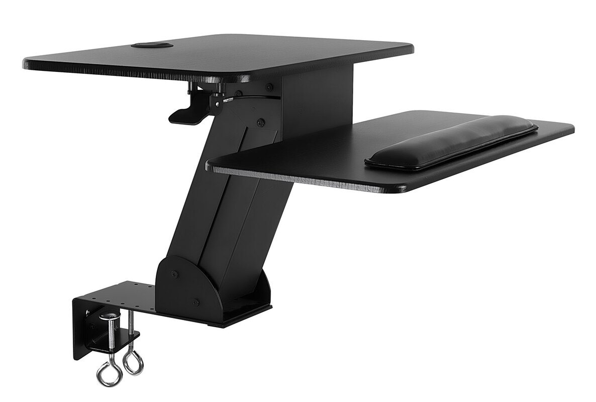 Kelch Ergonomic Height Adjustable Tabletop Standing Desk Converter With  Clamp