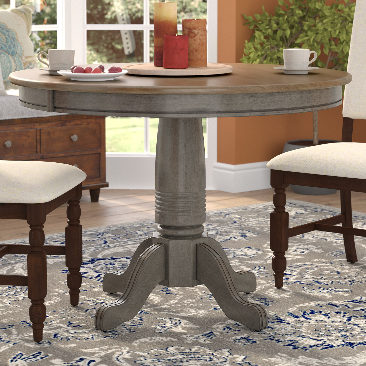 Alcott hill coldspring round dining table reviews wayfair