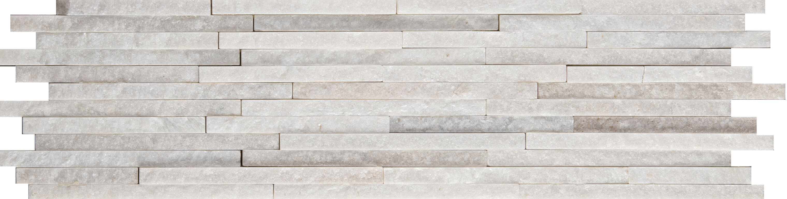 "Emser Tile Natural Stone Mini Stacked Slate 6"" x 24"" Quartzite"