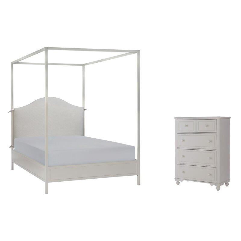 Summerset Metal Canopy Customizable Bedroom Set
