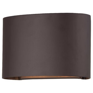 Everton 2-Light Outdoor Flush Mount