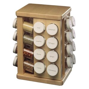 Sugar Maple Carousel Spice Rack