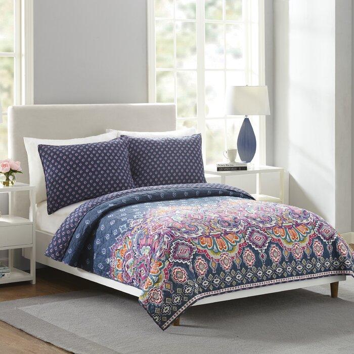 Vera Bradley Sedona Medallion Reversible Comforter Set Wayfair