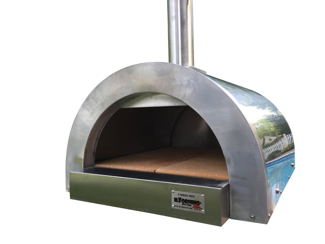 Portable wood fired pizza oven for sale -  Wood Burning Outdoor Pizza Ovens Sku Ilfo1001