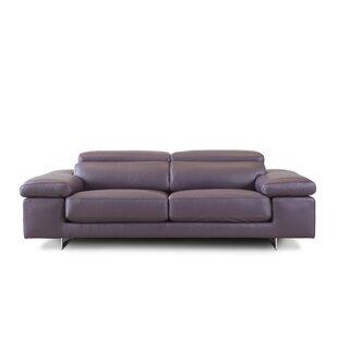 Nina 3 Seater Leather Sofa