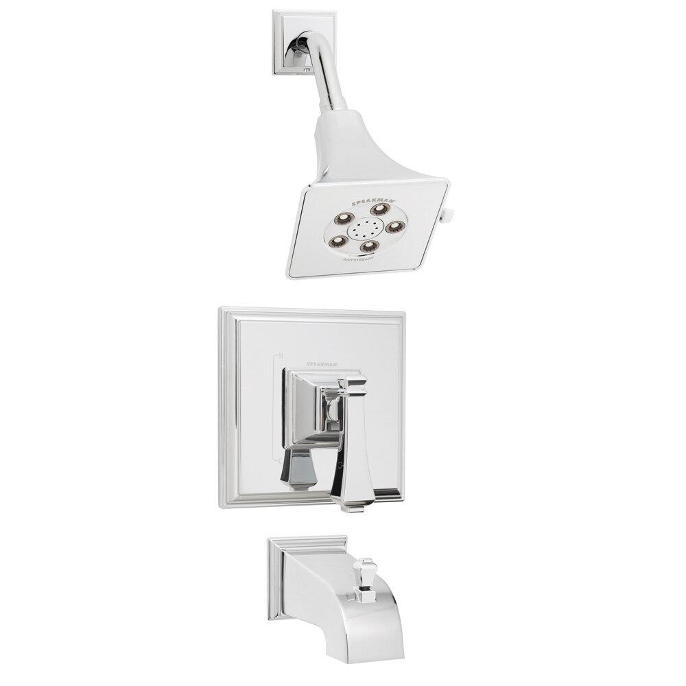 Speakman Shower Combinations: Non-diverter Valve & Diverter Tub ...