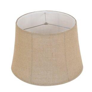 Fancy lamp shades wayfair 16 white linen lamp shade aloadofball Images
