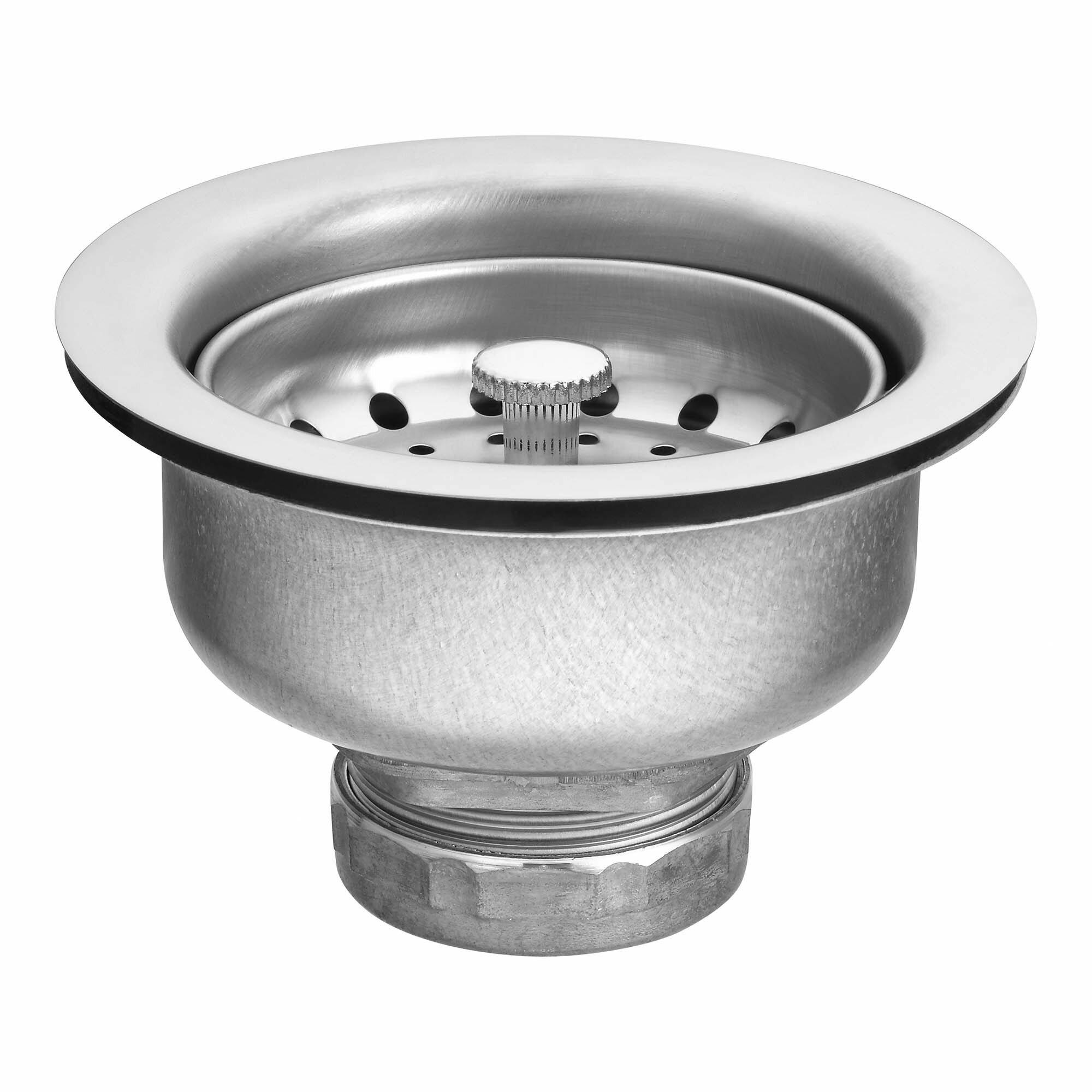 Moen moen basket strainer kitchen sink drain reviews wayfair