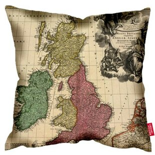 Map cushion wayfair british library 1707 gb ireland map cushion gumiabroncs Images