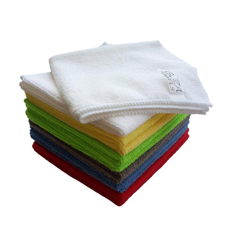 AG Gapital Goza 12 Pieces in Set Washcloth Towel Set  Finish: Multicolor