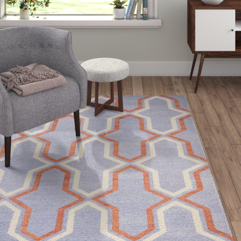 safavieh handgefertigter teppich dhurrie aus wolle in lila hellbraun. Black Bedroom Furniture Sets. Home Design Ideas