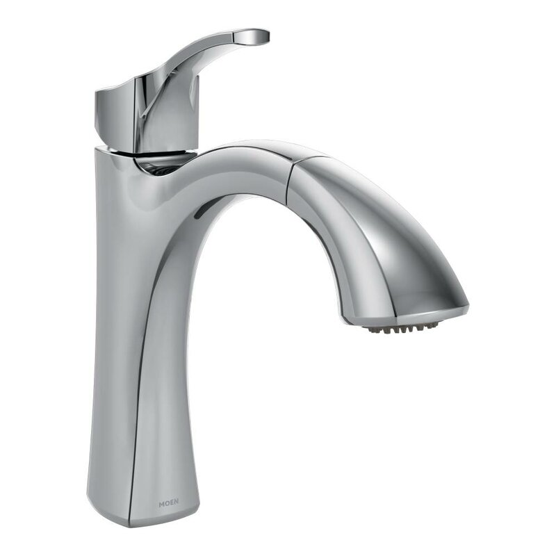 with single plumbing standard product chateau supply moen centerset lavatory handle faucet drain chrome