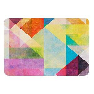 Color Blocking II by Mareike Boehmer Bath Mat