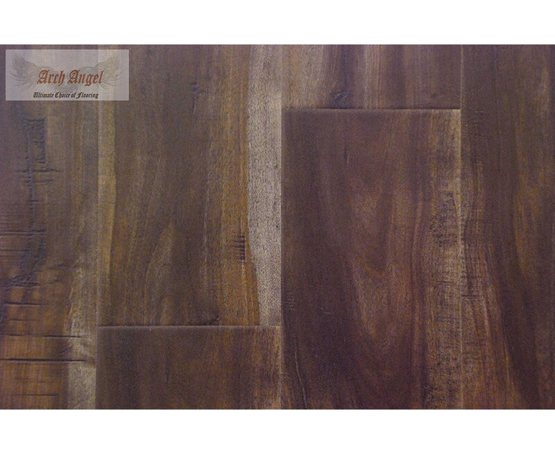 "AllAmericanHardwood Timeless Revolution 7"" x 48"" x 7mm Canadian Maple Laminate Flooring  Color: Java"