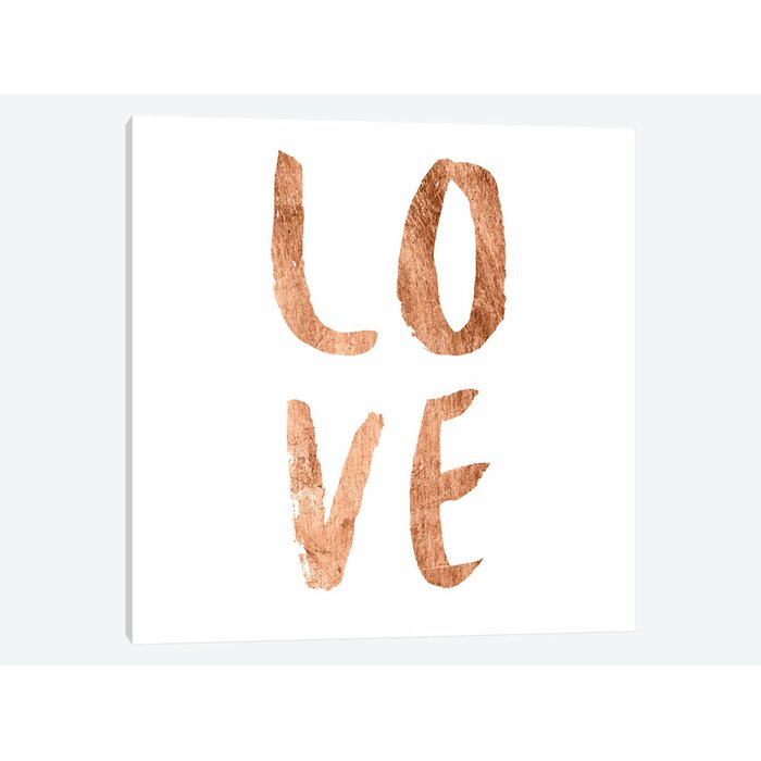 Love Quotes III' Textual Art On Canvas Joss Main Magnificent Canvas Love Quotes