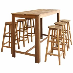 Clotilde 7 piece pub table set by brick barrow check price clotilde 7 piece pub table set watchthetrailerfo