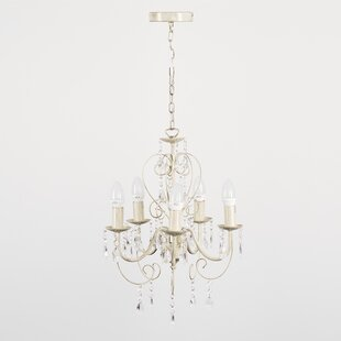 Chandeliers youll love wayfair lille 5 light candle style chandelier mozeypictures
